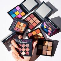Huda Beauty Obsessions Eyeshadow Palette Warm Brown Mauve Smokey Electric