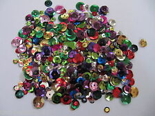 500 MIXED COLOUR SEA FISHING SEQUINS / TRACE MAKING ATTRACTORS FOR RIGS