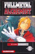 FULLMETAL ALCHEMIST  tome 1 Arakawa MANGA shonen