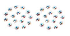 1440pcs Flat Back Crystal Rhinestones Shiny Gem Wholesale Nail Art Gel Tips