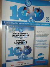 DVD DIEGO ARMANDO MARADONA VS EDISON CAVANI EL MATADOR 100 GOL NAPOLI