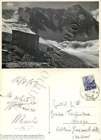 Cartolina della parete nord del Monte Adamello, Vedretta dei Frati - Brescia