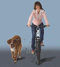 KLEINMETALL DogRunner Fahrradhalter Fahrradleine Führleine gefedert für Hund
