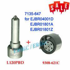 Injector Repair Kit Nozzle L120PBD 621C for EJBR04001D EJBR01801A EJBR01801Z