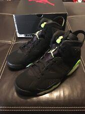 Nike Air Jordan 6 Retro Electric Green Black Ct8529-003 Men's Size 8.5