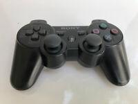 Official Sony PS3 DualShock 3 Wireless Controller Black CECHZC2U