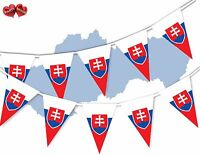 Serbia Full Flag Patriotic Themed Bunting Banner 15 Triangle flags National