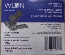 "Wilton 11717 Super Precision Sine Vise 3"" Jaw Width, 6"" Center Distance"