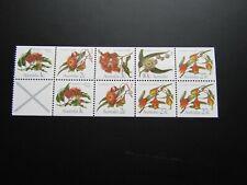 1983  Australia Eucalyptus Flowers Booklet Pane MNH Sg870b