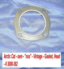 Arctic Cat Snowmobile Cylinder Head Gasket # 3000-362 1971 King Kat 800 Vintage