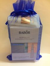 Babor set 6 products: hy-oil,base,make up remover,oxygen cream,hand cream fluids