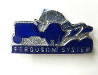 Vintage Ferguson Systems Tractors Enamel lapel badge 32 x 15 mm
