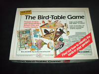 THE BIRD TABLE GAME--RARE VINTAGE FAMILY BOARD GAME BY ED-U-GAMES 1985