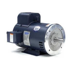 Leeson Electric Motor 132043.00 7.5 HP 3450 Rpm 1PH 208-230 Volt 184TC Frame