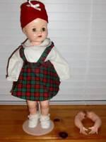 "1950's HP 22"" Saucy Walker Toddler Doll Unmarked ~ Vintage"