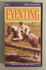 EVENTING jumping training for horse & rider part 2 cross country VHS VIDEOTAPE