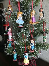 Disney Christmas Princess Ornament Set Belle, Aurora, Ariel, Merida, Snow White!