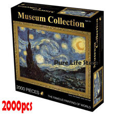 JIGSAW musume Eurographics Puzzle 2000 Pc The Starry Night Vincent Van Gogh