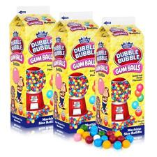 Dubble Bubble Gum-Balls Nachfüll-Packung Kaugummis für Kaugummi-Automaten (3er P
