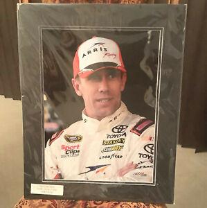 "CARL EDWARDS NASCAR PICTURE A DOUBLE MAT AROUND IT 20"" X 16"" FANATICS AUTHENTIC"