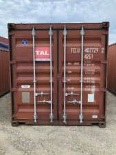 Used 40 High Cube Steel Storage Container Shipping Cargo Conex Seabox Newark