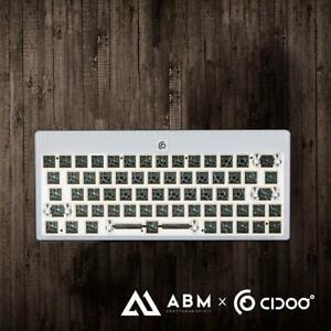 ABM64 Tri-mode ANODIZED ALUMINUM MECHANICAL KEYBOARD KIT 60% HOT SWAP Bluetooth