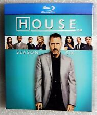 BRAND NEW Gift Ready House Season Six Blu-Ray BoxSet Olivia Wilde Lisa Edelstein
