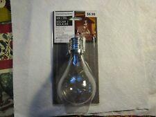 "[The Gerson Companies 5.5""H Solar Edison Light Bulb~~[EVERLASTING GLOW]"
