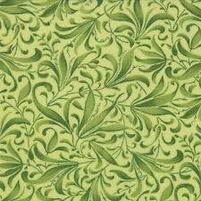 Green Vine Leaf Fresh Picked Fabric - Moda - 32835 13