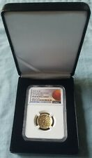 2020 $5 1/4oz Gold Basketball HALL OF FAME NGC PF69 TIP OFF RELEASES Designation