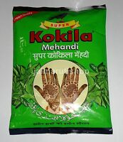 Kokila Mehandi Henna POWDER Mehndi Mehendi powder for Tattoo Paste 100% Natural