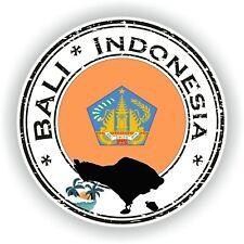 Bali Indonesia Sello Pegatina para Coche Camión Portátil Tablet Nevera Puerta
