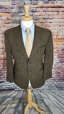 Ralph Lauren Chaps 38S 2 Button TWEED WOOL HERRINGBONE Sport Coat Jacket Blazer