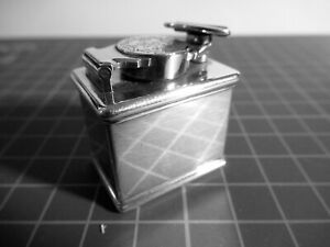 SOLID SILVER WILLIAM IV  TRAVEL INKWELL JAMES BEEBE 1835