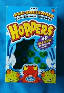 Thinkfun Hoppers Peg-Solitaire Jumping Game