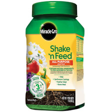 All Purpose Plant Food Shake Natural Ingredients Vital Micro Nutrients Dry Plant