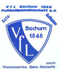 VfL Bochum 1848 Fußballgemeinschaft e.V. Auto- Aufkleber Fussball #209
