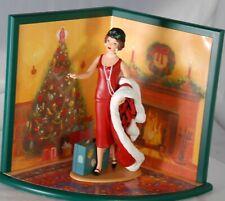 1998 Hallmark Holiday Voyage Barbie Limited Edition Display Diorama, Opened