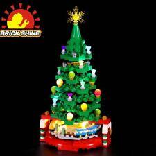 Brick Shine Light Kit for LEGO Creator Christmas Tree 40338(Top Rated Seller)