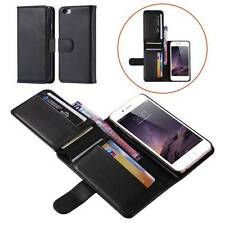 Magnetic Wallet Leather Card Flip Pouch Folding Case Cover for iPhone Samsung