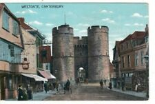 CANTERBURY = WESTGATE COLOUR  POSTCARD (EARLY 1900s)