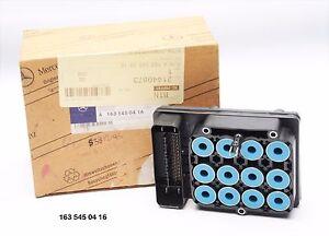 MERCEDES BENZ ECU control unit 163 545 04 16