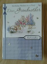 Grandmother birthday card ~ birthday wishes to a very dear grandmother