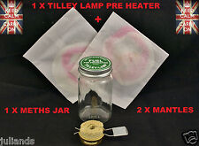 TILLEY LAMP PRE HEATER TORCH TILLEY LAMP METHS JAR TILLEY LAMP MANTLES PARTS