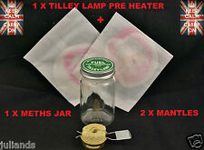 TILLEY LAMP PRE HEATER TORCH TILLEY LAMP METHS JAR TILLEY LAMP MANTLES PARTS