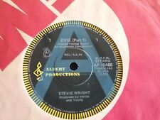 "STEVIE WRIGHT EVIE PART 1 2 3 A PROMO 45 7"" AUSTRALIA ALBERT PRODUCTIONS ROO"