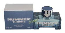 HUMMER CHROME BY HUMMER 4.2 OZ EDT SPRAY FOR MEN NEW IN BOX