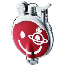 NEW Vivienne Westwood  Oil ORB Lighter Red Smily with box