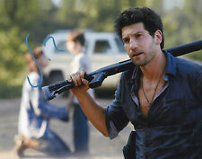 JON BERNTHAL SIGNED 8X10 COLOR PHOTO THE WALKING DEAD SHANE AUTOGRAPH