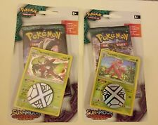 Pokemon 2 pack unopened lot sun and moon guardians rising 22 cards in all 2coins